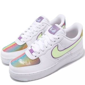 Nike Air Force 1 Easter White Multi Color Rainbow